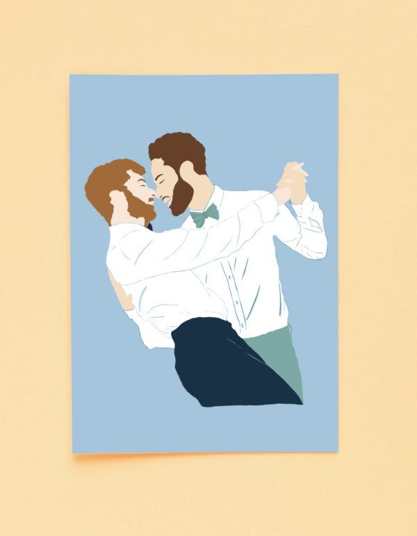 carte danseur
