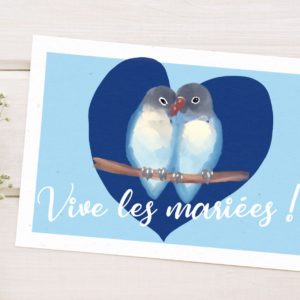 carte love birds