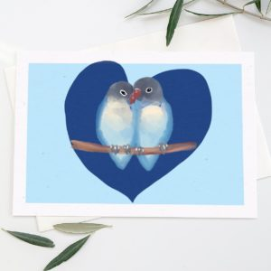 carte love birds