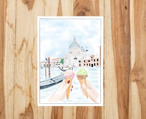 coloriage Venise