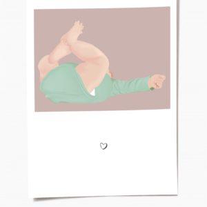carte naissance bébé