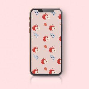 fond d'écran gratuit pommes